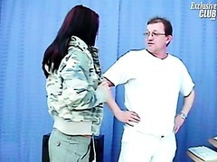 Sara gyno exam including muff speculums exam and muff enema