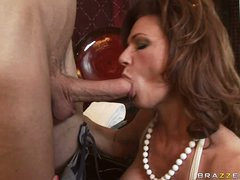 Deauxma is a hawt MILF who loves putting wet jock in her mouth