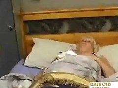 Chubby Older Bonks The Massage Boy