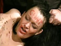 Humiliated british slavegirl in needle ache