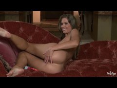Sensual fingering Adrienne Manning solo tease